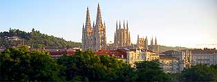 Cathedral of Burgos at dawn
